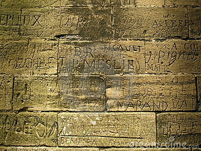 Writing - Ancient Graffiti