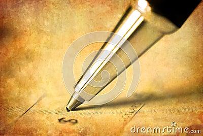Writing Check