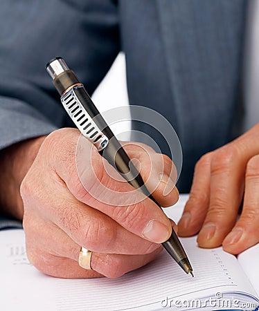 Writing Hand.