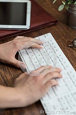 writing on keyboard stock photo image 53857930. Black Bedroom Furniture Sets. Home Design Ideas