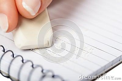 Writing on Notepad