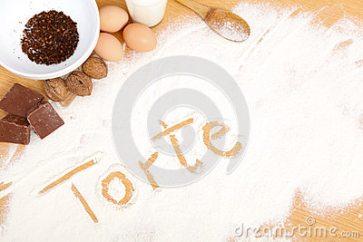 Written in flour - torte