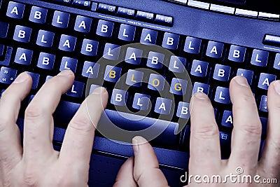 Writting a blog