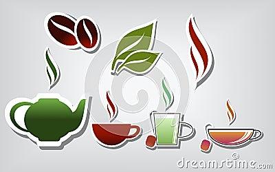 Wärmen Sie Getränke