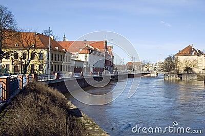 Wroclaw cityscape, Poland