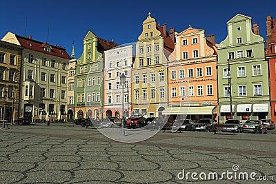 Wroclaw historic center Editorial Photo