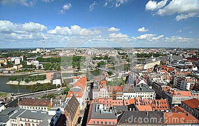 Wroclaw - panorama
