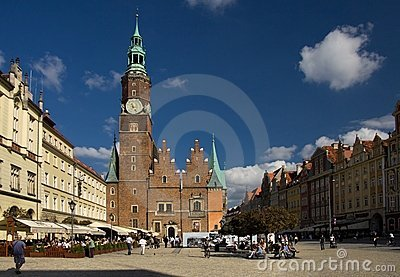 Wroclaw in Poland Editorial Stock Photo