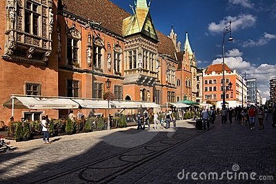 Wroclaw in Poland Editorial Image