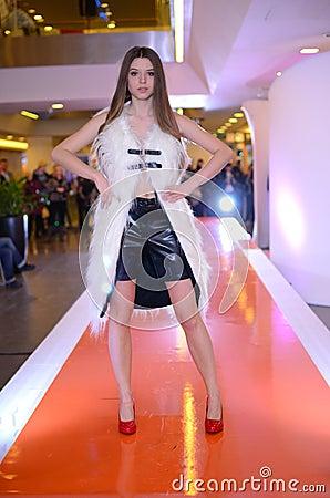 Fashion show - Wroclaw, Poland Editorial Photo