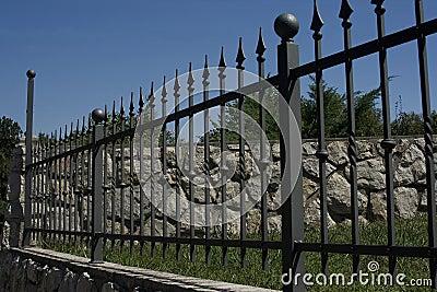antique wrought iron fence | eBay - Electronics, Cars, Fashion