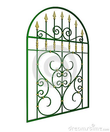 Free Wrought Iron Window Grille Stock Photography - 29000902