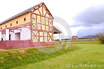 Wroxeter Replica Roman Villa