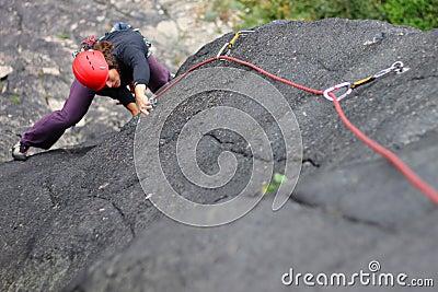 Wspinaczkowa skała