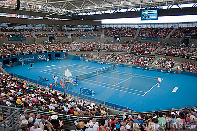 WTA Brisbane International Editorial Image