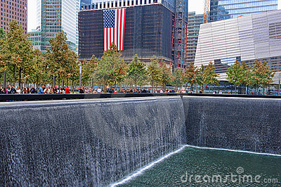 WTC 9-11 Memorial Editorial Stock Photo