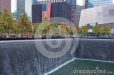 WTC 9-11 Memorial Editorial Stock Photo