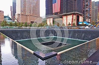 WTC 9-11 Memorial Editorial Photography