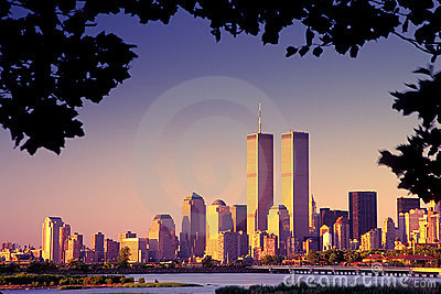WTC, World Trade Center Editorial Photography