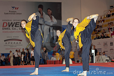 WTF World Taekwondo Poomsae Championship Editorial Photo