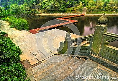 Wudang Shan Lake