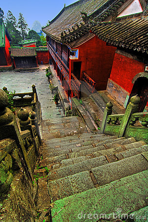 Free Wudang Shan Temple In China Stock Photo - 4363210