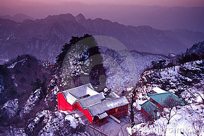 Wudang in Winter