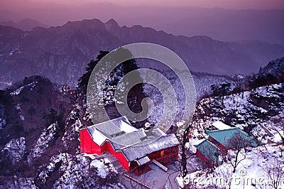 Wudang in Winter
