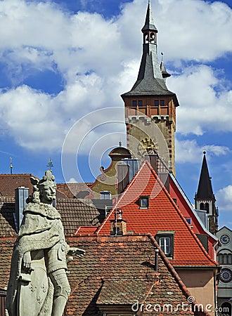 Wuerzburg Cityscape