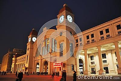 Wuhan hankou railway station Editorial Stock Photo