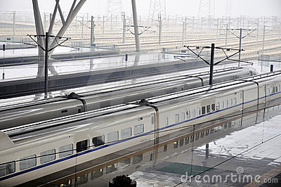 Wuhan Railway Station Editorial Stock Photo