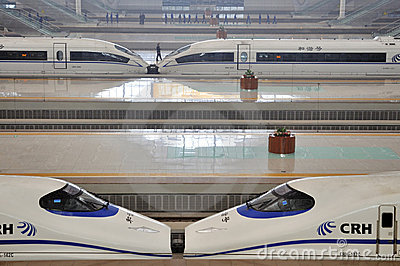 Wuhan Railway Station Editorial Photography