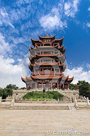 Free Wuhan Yellow Crane Tower Royalty Free Stock Photos - 20974578
