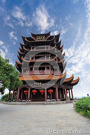 Free Wuhan Yellow Crane Tower Stock Photography - 21140992