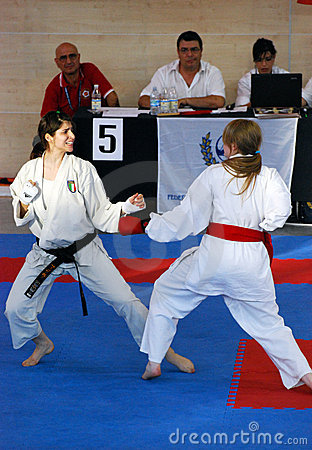 Wuko European Karate Championships Editorial Image