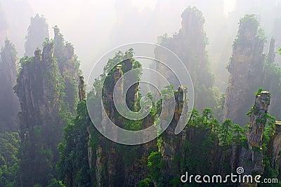 Wulinyuan Scenic Area