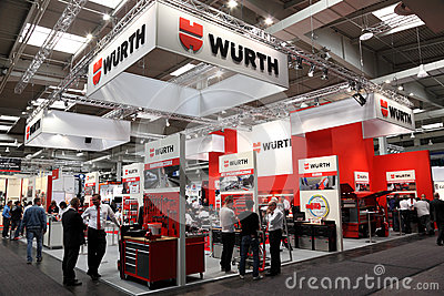 WURTH Stand at the IAA Editorial Image