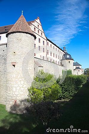 Wurzburg Fort walls