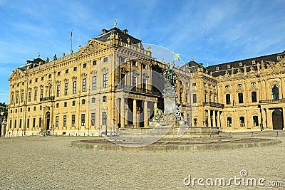 Wurzburg - Residence landmark