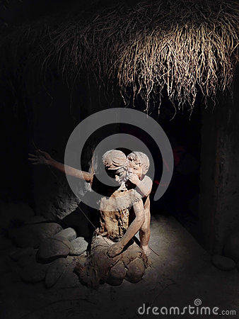 Free Wushan Ancient People`s Life Display Royalty Free Stock Photography - 98230777