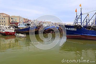 Wuyu island fishing pier editorial stock photo image for City island fishing
