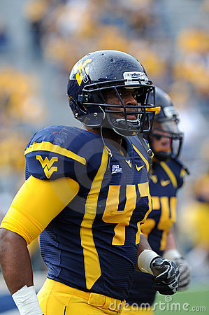 WVU linebacker Doug Rigg Editorial Stock Photo