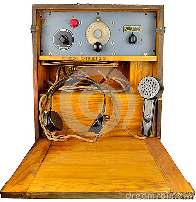 Ww2 air raid transceiver