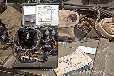 WW II Morse Code Machine - horizontal