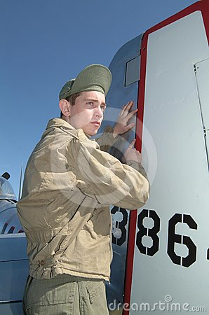 WW11 American crew chief