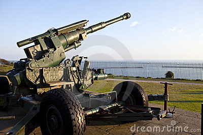 WW2 Artillery Pointed at the English Channel
