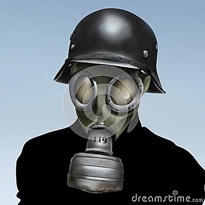 Free WW2 Gas Mask Royalty Free Stock Photo - 8156485