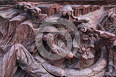WW2 memorial relief