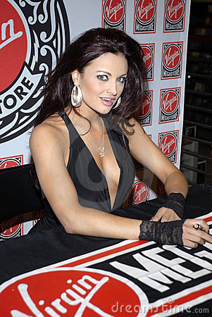 WWE Diva Maria Kanellis appearing. Editorial Photo