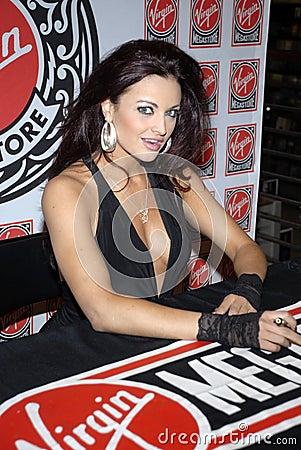 WWE Diva Maria Kanellis appearing. Editorial Photo